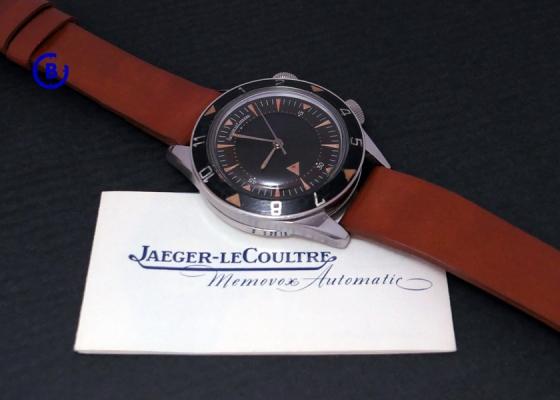 Jaeger-LeCoultre E 857 Deep Sea Alarm - Memovox Automatic no date