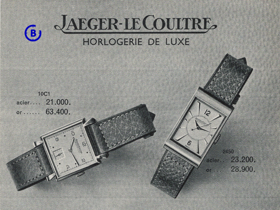 Jaeger-LeCoultre reference 2450: the Second T.W.O in One